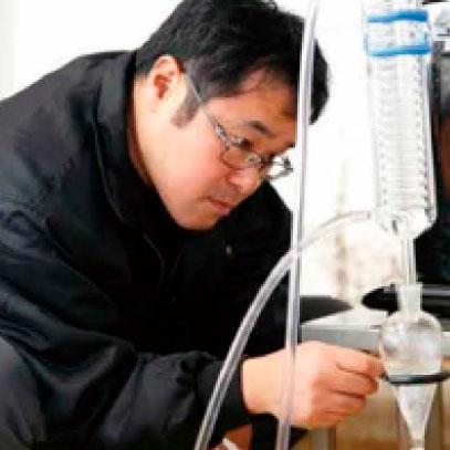 基材の精油は自家生産 イメージ画像